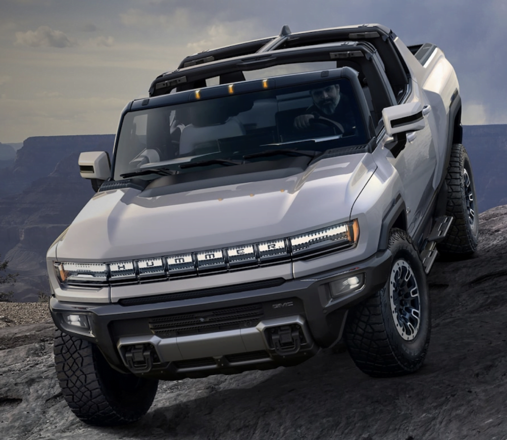 Picture of GMC Hummer Electric Vehicle