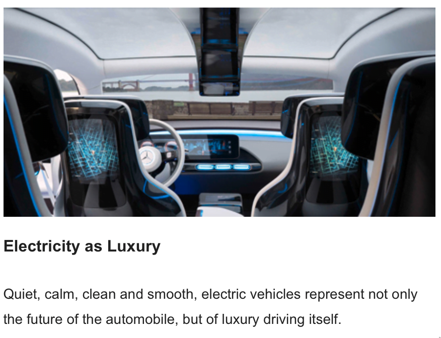 Electricity as Luxury